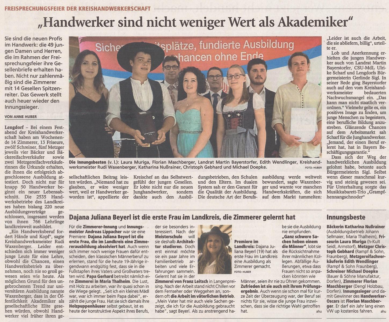 Zeitungsbericht_Florian Maschberger_2018_2